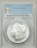 Morgan Dollars: , 1880-S $1 MS66+ PCGS Secure. PCGS Population: (11159/2505 and 505/312+). NGC Census: (11743/3500 and 330/120+). MS66. Minta...