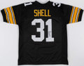 Autographs:Jerseys, Donnie Shell Signed Pittsburgh Steelers Jersey....