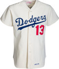 Baseball Collectibles:Uniforms, 1974 Joe Ferguson Game Worn Los Angeles Dodgers Jersey....