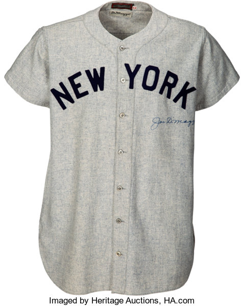 1947 Joe DiMaggio World Series Game Five Worn   Signed New  c9486a4aad2