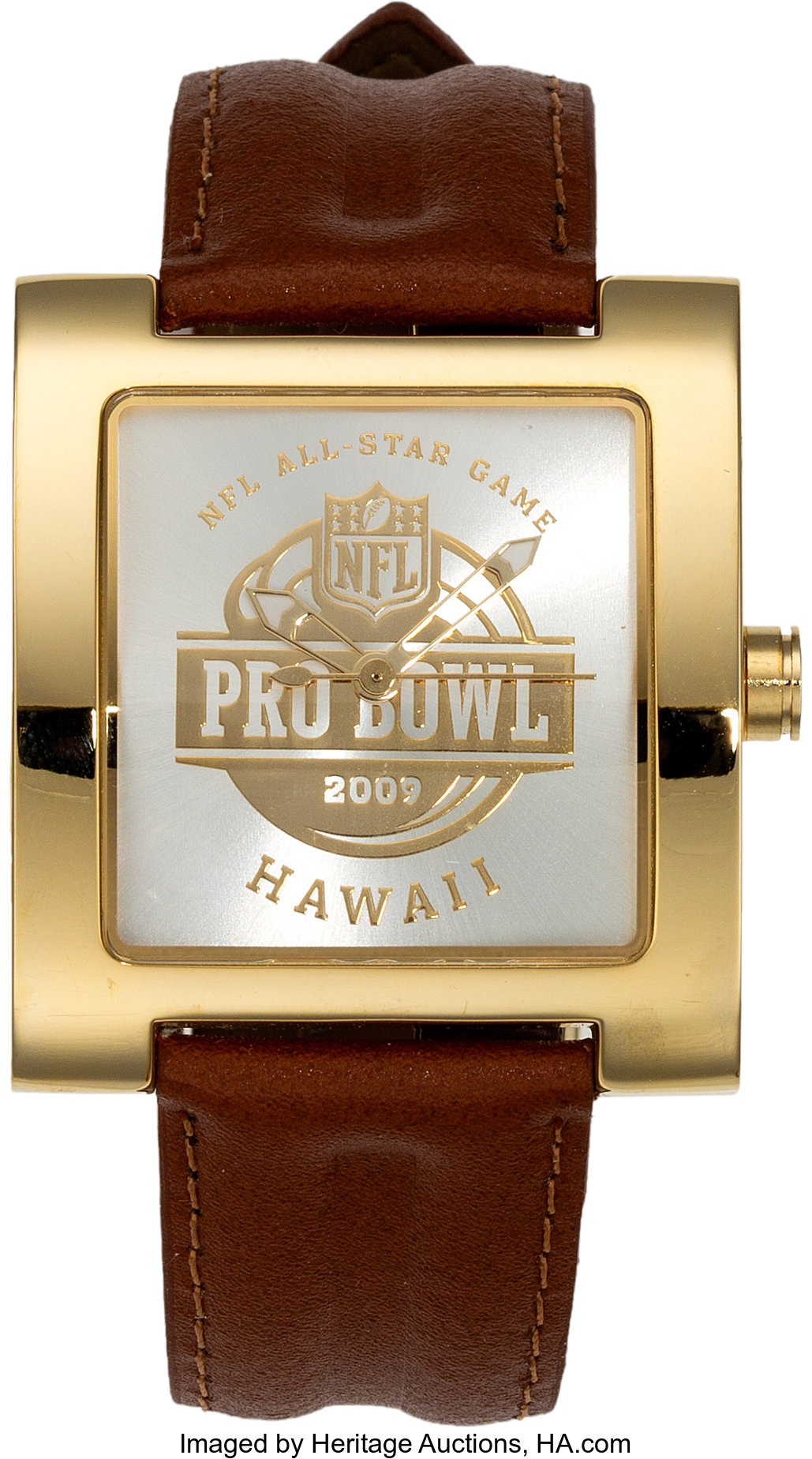 2009 Nfl Pro Bowl Team Members Presentational Watch And Decorative
