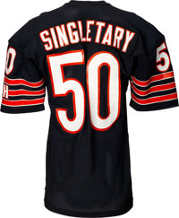 best service ca961 93831 1986 Mike Singletary Authentic Model Chicago Bears Jersey ...