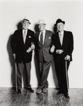 Photographs, Terence Donovan (British, 1936-1996). Sir Ralph Richardson, Lord Olivier, and Alec Guinness, 1980. Gelatin silver, print...