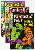 Bronze Age (1970-1979):Superhero, Fantastic Four Short Box Group (Marvel, 1970-89) Condition: AverageFN....