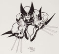 Original Comic Art:Illustrations, Arthur Adams - Wolverine Commission Illustration Original Art(1987)....