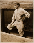 Baseball Collectibles:Photos, 1927 Muller Huggins Original News Photograph by Underwood &Underwood, PSA/DNA Type 1....