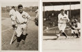 Baseball Collectibles:Photos, 1927-31 Hack Wilson Original News Photographs by Underwood &Underwood Lot of 2, PSA/DNA Type 1....
