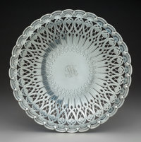 A Tiffany & Co. Silver Reticulated Footed Plate, New York, circa 1907 Marks: TIFFANY & CO, 16976A MAKERS 7722...