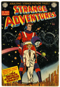 Golden Age (1938-1955):Science Fiction, Strange Adventures #9 (DC, 1951) Condition: FN....
