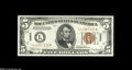 Small Size:World War II Emergency Notes, Fr. 2301 $5 1934 Hawaii Mule Federal Reserve Note. Gem Crisp Uncirculated. A fresh and well-centered example of this very p...