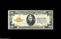 Small Size:Gold Certificates, Fr. 2402 $20 1928 Gold Certificate. Choice Crisp Uncirculated. A bright and pretty example of this popular note....