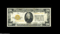 Small Size:Gold Certificates, Two Gold Certificate Denominations Fr. 2400 $10 1928 Gold Certificate VF Fr. 2402 $20 1928 Gold Certificate VF. ... (2 notes)