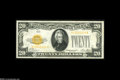 Small Size:Gold Certificates, Fr. 2402 $20 1928 Gold Certificate. About Uncirculated. The second note in this consecutive pair, and just a nice as the fi...