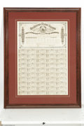 Confederate Notes:Group Lots, Ball 323 $1000 Confederate Bond. The vignette is of the Confederateseal, while 50 coupons remained attached. Extremely Fi...