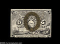 Fractional Currency:Error Notes, Fr. 1235/1322 Milton 2E5FR.2 5¢/50¢ Second Issue DoubleDenomination Very Choice New. While not the same piece as ourFriedb...