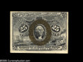Fractional Currency:Error Notes, Fr. 1289 Milton 2R25.8d 25¢ Second Issue Choice About New. Tom haslisted this as an error note due to the lack of noticeabl...