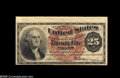 Fractional Currency:Error Notes, Fr. 1301 Milton 4R25.1 25¢ Fourth Issue New. The upper margin islarge enough on this regular issue note to get it to qualif...