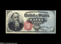 Fractional Currency:Courtesy Autographs , Fr. 1376 Milton 4R50.2k 50¢ Fourth Issue Stanton Courtesy Autograph Choice New. This lovely Stanton bears the courtesy autog...