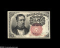 Fractional Currency:Courtesy Autographs , Fr. 1266 Milton 5R10.1f 10¢ Fifth Issue Courtesy Autograph Choice New. Carmi Thompson has signed his name in red in the narr...