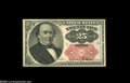 Fractional Currency:Courtesy Autographs , Fr. 1309 Milton 5R25.1 25¢ Fifth Issue Courtesy Autograph Choice About New. There are a few pinholes in this Fifth Issue not...