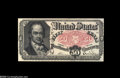 Fractional Currency:Courtesy Autographs , Fr. 1381 Milton 5R50.1a 50¢ Fifth Issue Courtesy Autograph Choice New. John New's hand signature appears vertically to the r...