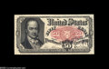Fractional Currency:Courtesy Autographs , Fr. 1381 Milton 5R50.1g 50¢ Fifth Issue Courtesy Autograph Gem New. John Burke's bold signature appears above that of the en...
