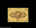 Fractional Currency:First Issue, Fr. 1228 Milton 1R5.3a 5¢ First Issue Gem New. This beautifulPerforated Five Cent note is listed as Milton 1R5.3a. It's pri...