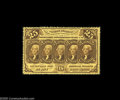 Fractional Currency:First Issue, Fr. 1279 Milton 1R25.3 25¢ First Issue Gem New. An absolutelypristine example of a Twenty Five Cent Perforated note. The pe...