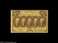 Fractional Currency:First Issue, Fr. 1279 Milton 1R25.3b 25¢ First Issue Gem New. The perforationsare full, deep and even all the way around, and the note h...