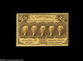 Fractional Currency:First Issue, Fr. 1279 Milton 1R25.3b 25¢ First Issue Gem New. This 1279 has deepperforations all the way around and a strip of margin ou...