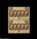 Fractional Currency:First Issue, Fr. 1280 Milton 1R25.2b 25¢ First Issue Vertical Pair Choice New. Avery tough number and truly rare as a multiple. It's an ...