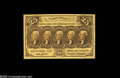 Fractional Currency:First Issue, Fr. 1281 Milton 1R25.4c 25c First Issue Superb Gem New. Terrific margins, deep paper originality and virtually perfect cente...