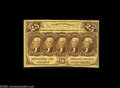 Fractional Currency:First Issue, Fr. 1282 Milton 1R25.1a 25¢ First Issue Very Choice New. A perfectGem save for its right face margin which, although it rem...
