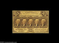 Fractional Currency:First Issue, Fr. 1282 Milton 1R25.1b 25¢ First Issue Choice New. Very tightly margined all the way around, which on this rare number alwa...