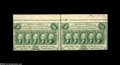 Fractional Currency:First Issue, Fr. 1311 Milton 1R50.2 50¢ First Issue Horizontal Pair Extremely Fine. From our sale of the Milt Friedberg Collection, where...