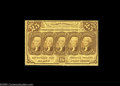 Fractional Currency:First Issue, Fr. 1279(a?) Milton ? 25¢ First Issue Perforated 16 Choice New. The 25¢ note from the set....