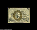 """Fractional Currency:Second Issue, Fr. 1233 Milton 2R5.2d 5¢ Second Issue Extremely Fine. This is the """"18"""" Only variety that was avidly collected as an extreme..."""