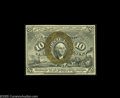 Fractional Currency:Second Issue, Fr. 1244 Milton 2R10.1a 10¢ Second Issue Choice New. Tight face margins preclude a higher grade, but the note is superb in e...