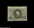 """Fractional Currency:Second Issue, Fr. 1285 Milton 2R25.4a 25¢ Second Issue Choice New. The all-important """"A"""" surcharge is distinct on this pretty little note...."""