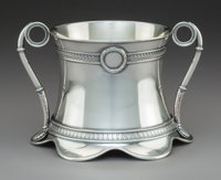 A Russian Silver Loving Cup with Original Fitted Case, 1st Silver and Gilding Artel, St. Petersburg, 1909-1913, retai