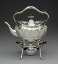 Silver & Vertu:Hollowware, A Wilson & Sharp Silver Kettle on Stand, Edinburgh, Scotland, 1914. Marks: (castle), (thistle), I, W&S, WILSON & S... (Total: 2 Items)