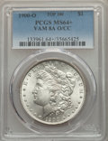 Morgan Dollars, 1900-O/CC $1 VAM-8A, Top 100, MS64+ PCGS. PCGS Population: (18/12 and 1/0+). NGC Census: (13/2 and 1/0+). MS64. ...