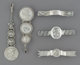 Three Shiebler Silver Jewelry Pieces Including Medallion Pattern with an Unger Brothers Watch Fob and an American ... (T...