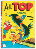 Golden Age (1938-1955):Funny Animal, All Top Comics #7 Mile High Pedigree (Fox Features Syndicate, 1947) Condition: VF....