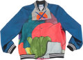 Other, KAWS x Mira Mikati. Bomber Jacket, 2016. Silk printed and embroidered . Size: L. Published by Colette, Paris. ...