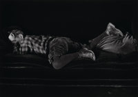 Edward Weston (American, 1886-1958) Neil Asleep, 1925 Gelatin silver, printed circa 1970s by Cole We