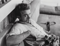 Roy Schatt (American, 1909-2002) James Dean, Photography Lesson, 1954 Gelatin silver, printed later<