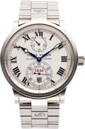 Timepieces:Wristwatch, Ulysse Nardin, Ref: 263-22-7 Marine Chronometer, 38mm, Circa 2000. ...