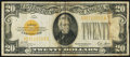 Small Size, Fr. 2402 $20 1928 Gold Certificate. Fine-Very Fine.. ...