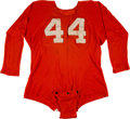 Football Collectibles:Uniforms, Late-1950's to Early-1960's College Football Tear-Away Jersey....